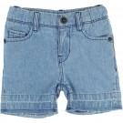 Mid Blue Denim Shorts