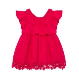 Baby Girl Fuschia Lace Dress