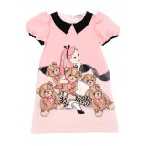 Pink Alice And Teddy Dress