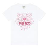 White Classic Tiger T-Shirt
