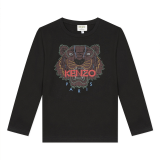 Black Tiger Long Sleeve T-Shirt