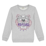 Grey Classic Tiger Sweatshirt ( 2- 10 years)
