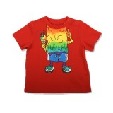 Red Monster Baby T-Shirt