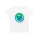White World Logo Cotton T-Shirt