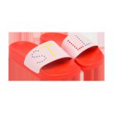 Red Logo Sandals