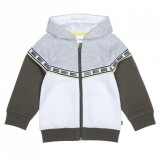 Grey & White Baby Jacket