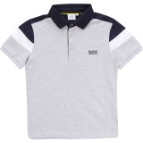 Monochrome Cotton Polo Shirt