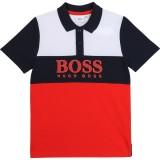 Color-Block Logo Polo Shirt