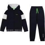 Black Track Suit and Hoodie Set