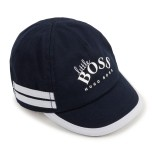 Navy Logo Stripe Cap