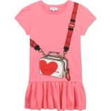 Pink Heart Bag Dress