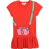 Red Snapshot Dress