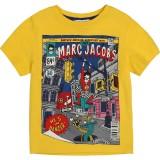 Yellow Super Hero Graphic T-Shirt