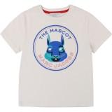 White and Blue Marc Mascot T-Shirt