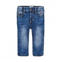 Blue Washed Denim Pants