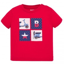 Baby Boy Red T-shirt