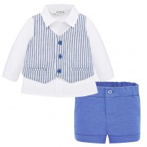 Baby Boy Vest-Shorts Set