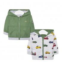 Green Cars Reversible Windbreaker Jacket