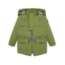 Baby Boy Olive Windbreaker Jacket