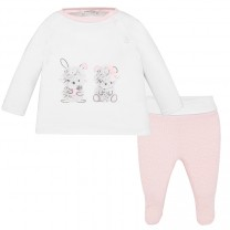 Baby girl Bunny and Bear Set