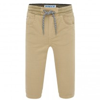 Cream Jogger Pants