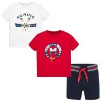Baby Boy Red Knit Set