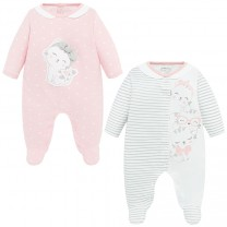 Baby Girl Kitty Onesia Set