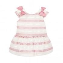 Baby Girl Pink Drop Waist Dress
