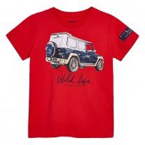 Red Vehicle T-shirt