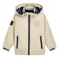 Latte Windbreaker Jacket