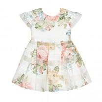 Chic Floral Organza Dress
