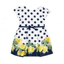 Polka Dot and Lemon Dress