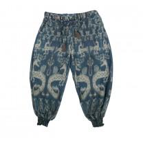 Sumba Indigo Harem Pants