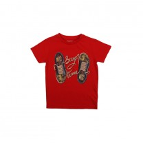 Red Shoes Print T-Shirt