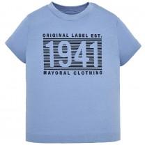 Sky Blue Graphic Printed T-shirt