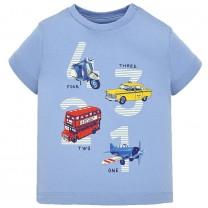 Blue Cotton T-ShirtBlue Cotton T-Shirt