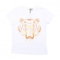 White Golden Tiger T-Shirt (16 years)