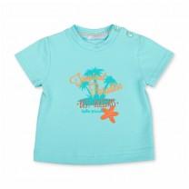 Blue Tropical Paradise T-shirt