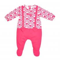 Pink Heart BabySuit