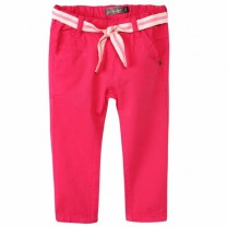 Fuchsia Cotton Pants