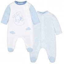 Baby Blue Pyjamas Set