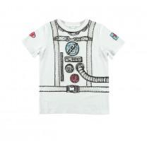 White Astronaut T-Shirt