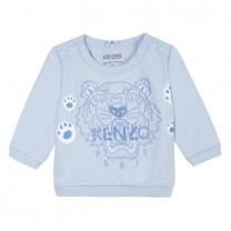 Pale Blue Iconic Tiger Sweatshirt