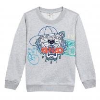 Unisex Grey Tiger Sweatshirt (2-12 years)