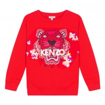 Red Tiger Sweatshirt (2-8 years)