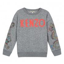 Grey Dragon Logo Sweater
