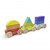 Shape Train Magnetic Wooden Blocks