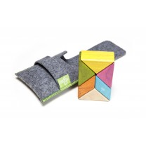 Tints Prism Pocket Pouch Magnetic Wooden Blocks