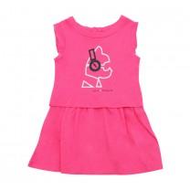 Pink Frill Dress