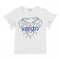 Light Grey Jibelle Elephant T-Shirt (2- 4 years)